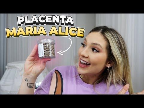 FIZEMOS COMPRIMIDOS DA PLACENTA DA MARIA ALICE!!