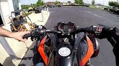 Cam Am Spyder Quick Test Ride