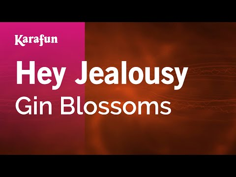 Karaoke Hey Jealousy - Gin Blossoms *