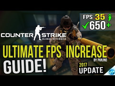 🔧 CSGO: Dramatically increase performance / FPS with any setup! 2018 UPDATE Lag / FPS drop fix