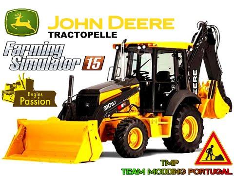 FS15/Tractopelle John Deere 310SJ/Engins Passion