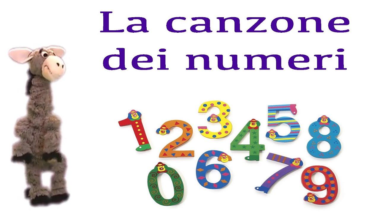 La canzone dei numeri ita engl fra esp e lis youtube - Immagini in francese per bambini ...
