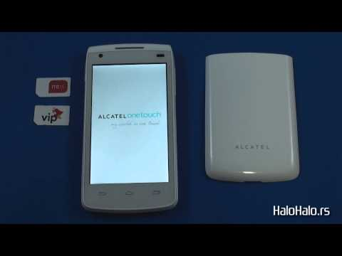 Alcatel OT 992D - Dual Sim reset na fabrički podešeno