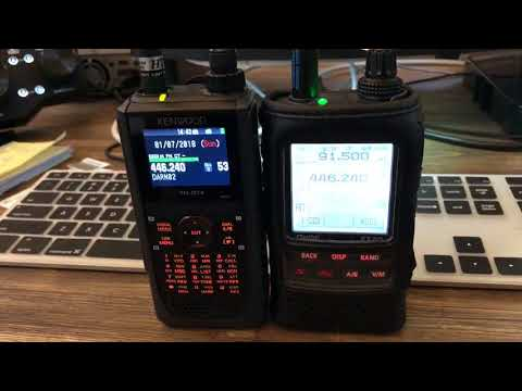 Dual Watch - Broadcast Radio -- TH-D74 / FT2D