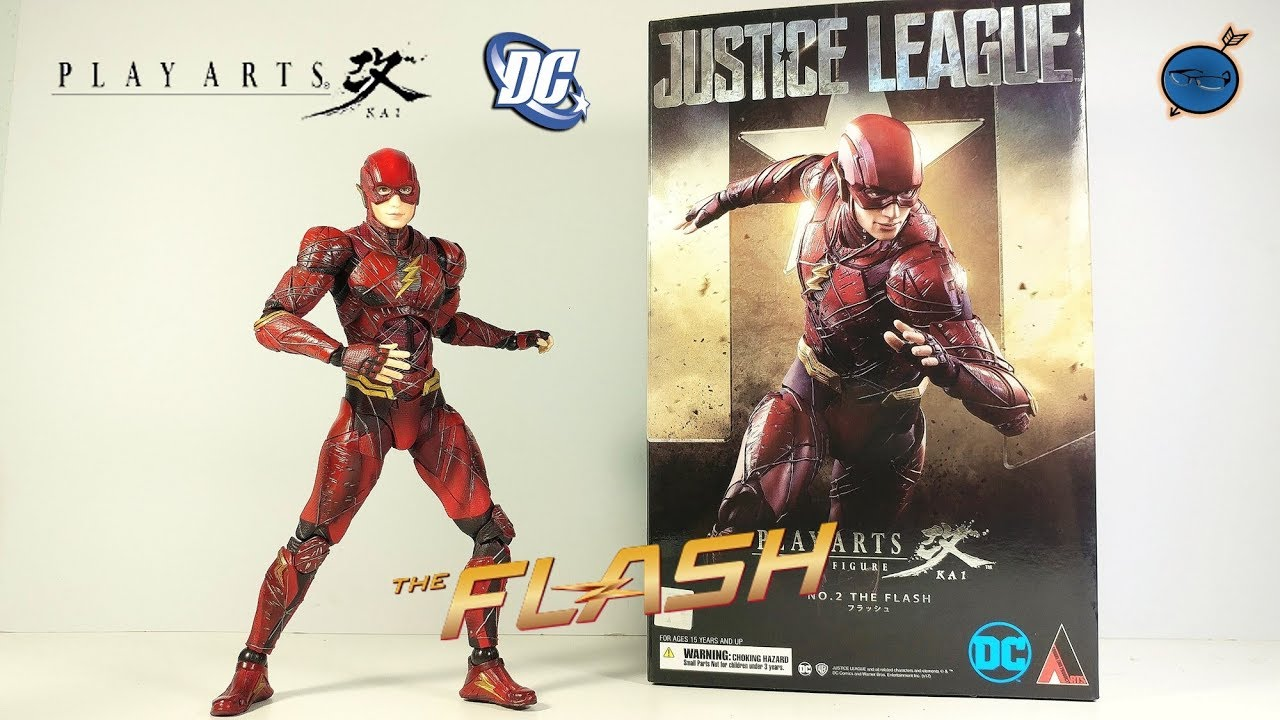 DC Comics Justice League The Flash Play Arts Kai Action Figure