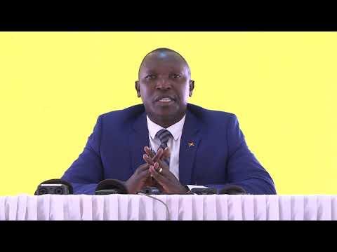 Le Ministre De L'interieur Rencontre Les Représentants Des Partis Politiques à Gitega