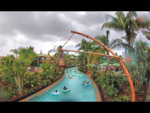 Volcano Bay, Blizzard Beach and Typhoon Lagoon - Universal Studios and Disney World Water Parks
