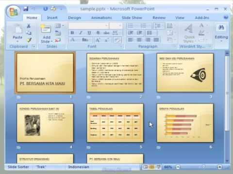 Cara Cepat Belajar Microsoft Office PowerPoint 2007 Secara Komplet