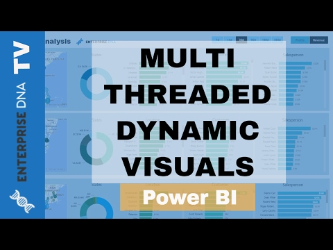 Multi Threaded Dynamic Visuals in Power BI - Advanced Power BI & DAX Techniques