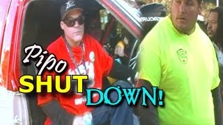Pipo Sanchez Gets SHUT DOWN! | Loud Stereo System Draws Out Security At Spring Break Nationals 2013