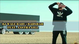 Just Bolly Lyrics | DJ Wale Babu - Badshah Feat. Aastha Gill (Lyrical video)