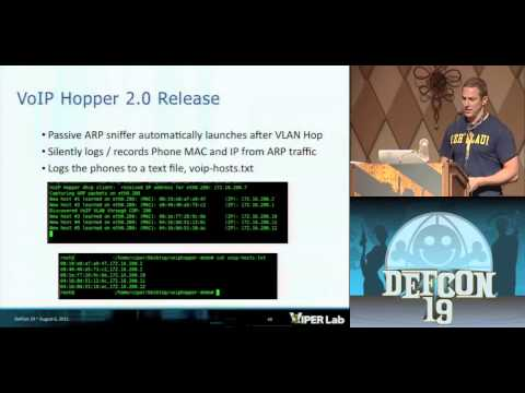 DEFCON 19: VoIP Hopping