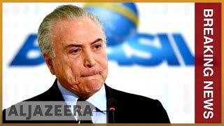 🇧🇷 Brazil's ex-President Michel Temer arrested on corruption probe | Al Jazeera English