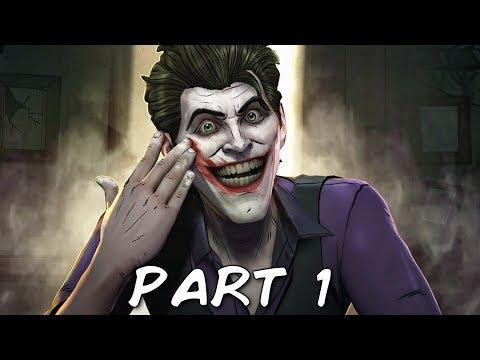 BATMAN SEASON 2 THE ENEMY WITHIN EPISODE 4 Walkthrough Gameplay Part 1 - Pact (Telltale)