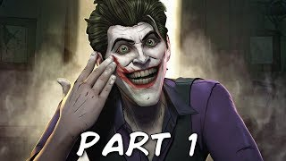 BATMAN SEASON 2 THE ENEMY WITHIN EPISODE 4 Walkthrough Gameplay Part 1 - Pact (Telltale)