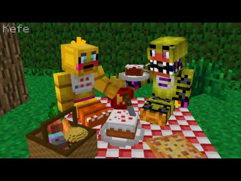 Minecraft Picnic Build Battle