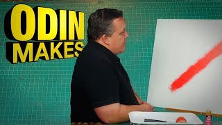 Odin Makes: Let's watch paint dry