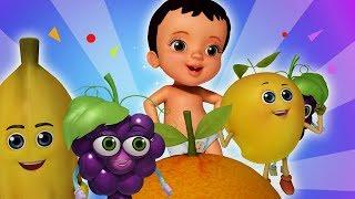 My Fruit Friends Telugu Pandlu Rhymes | Telugu Rhymes for Children | Infobells