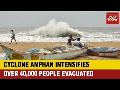 cyclone-amphan:-administration-evacuates-people-from-coastal-belts-in-odisha-&-west-bengal