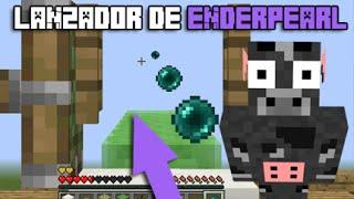 TRUCOS MINECRAFT 1.8 | CAÑON DE ENDER PEARLS | REDSTONE
