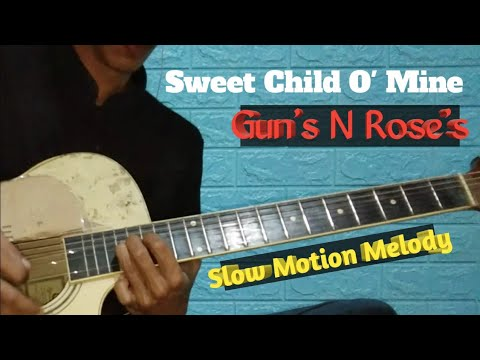 Guns N' Roses – Sweet Child O' Mine | Slowmotion Akustik Melody