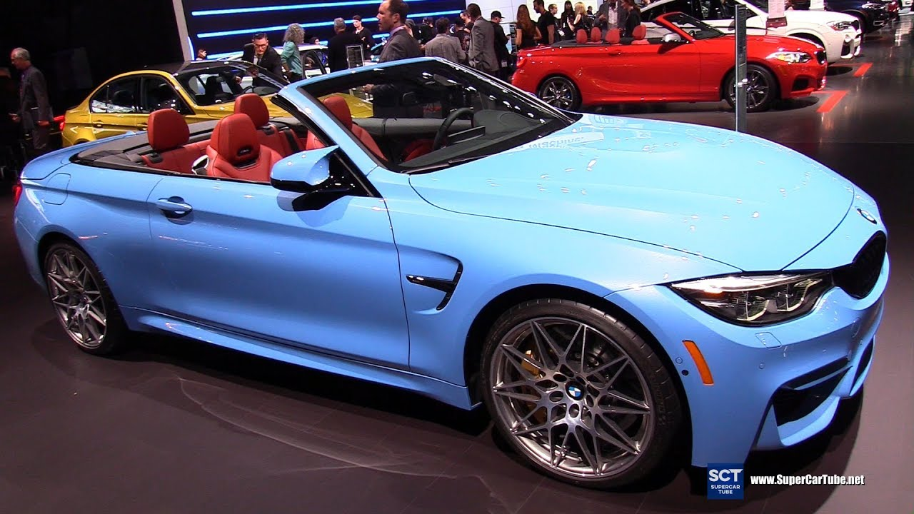 2017 Bmw M Series M4 Convertible Exterior And Interior Walkaround New York Auto Show