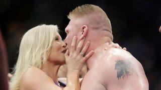 Brock Lesnar's Greatest Kisses