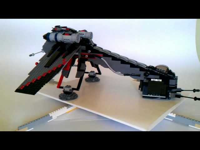 LEGO Star Wars 10195 Republic Dropship with AT-OT - Custom - LAAT/c Only - part 1/3