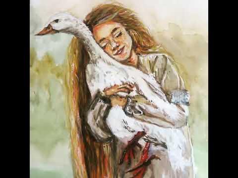 Картины Карина Бабаян во исполнение акварель смешанная техника. Астрахань 2018 год