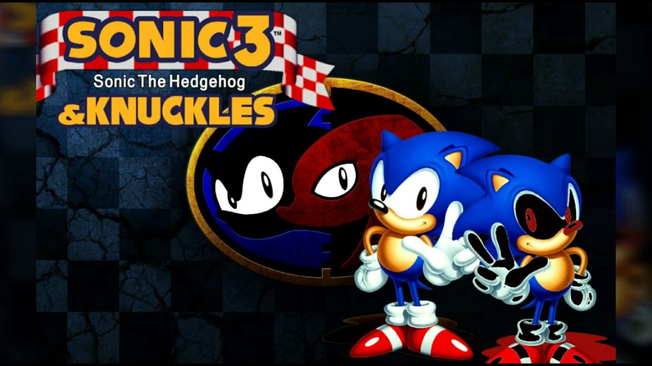 Sonic Exe in Sonic 3 & knuckles!