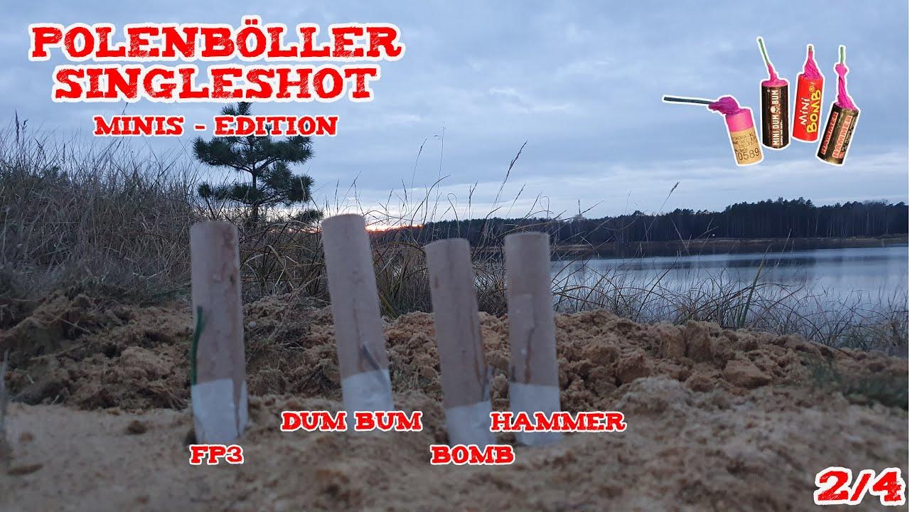 Polenböller Singleshots | Minis - Edition