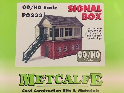 Pennyhill Junction Video 3 – Building the Metcalfe P0233 Signal Box