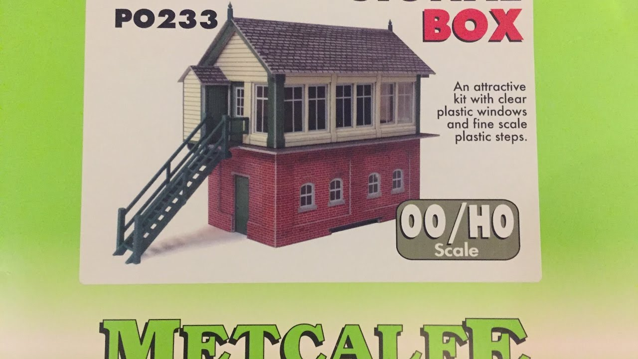 Metcalfe PO233 OO//HO Gauge Signal Box Card Kit
