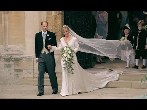The Royal Wedding of Prince Edward and Sophie RhysJones 1999