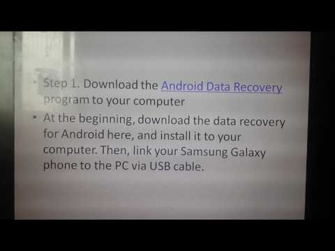 How To Recover Data After Factory Reset Android Free