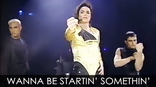 "Michael Jackson - ""Wanna Be Startin"