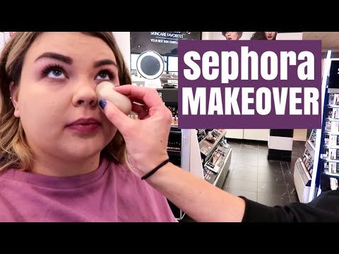 GETTING A SEPHORA INSIDE JCPENNEY MAKEOVER with FENTY BEAUTY!