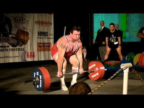 Chris Riley – 320kg 705.47 lbs Deadlift