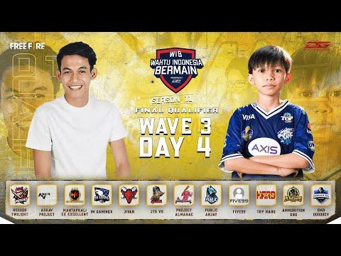 Dunia Games Waktu Indonesia Bermain: FREE FIRE SEASON 11 (FINAL WAVE 3 DAY 4)