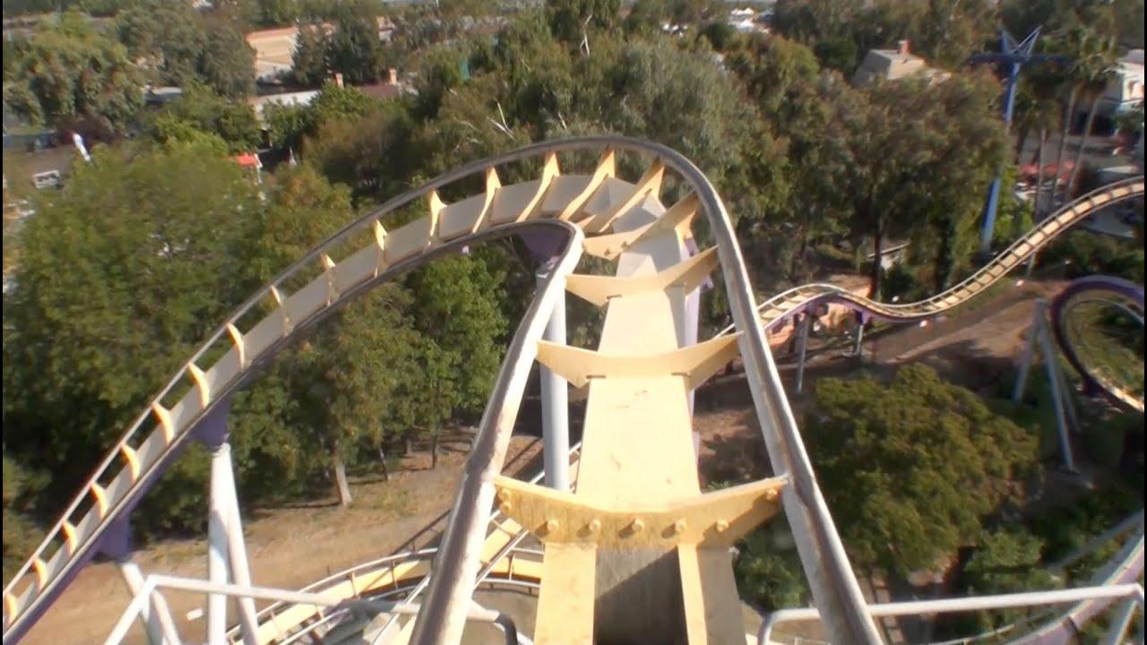 Vortex Stand Up Roller Coaster POV California\'s Great America - YouTube