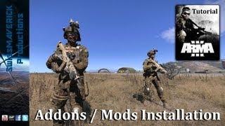 ARMA 3 - Addon/Mod Installation Guide