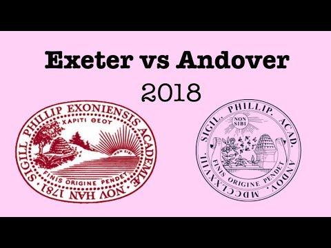 Exeter Andover games 2018
