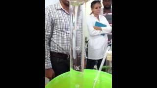 Óxido de hierro III con clorato de potasio