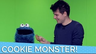 Unboxing Cookies With Cookie Monster