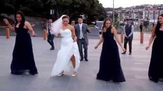 Wellington wedding dance extravaganza