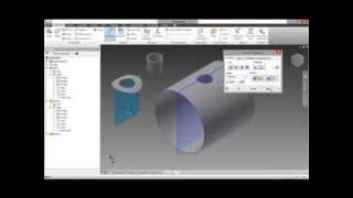 Creating Pressure Vessel R-Pad In Autodesk Inventor.