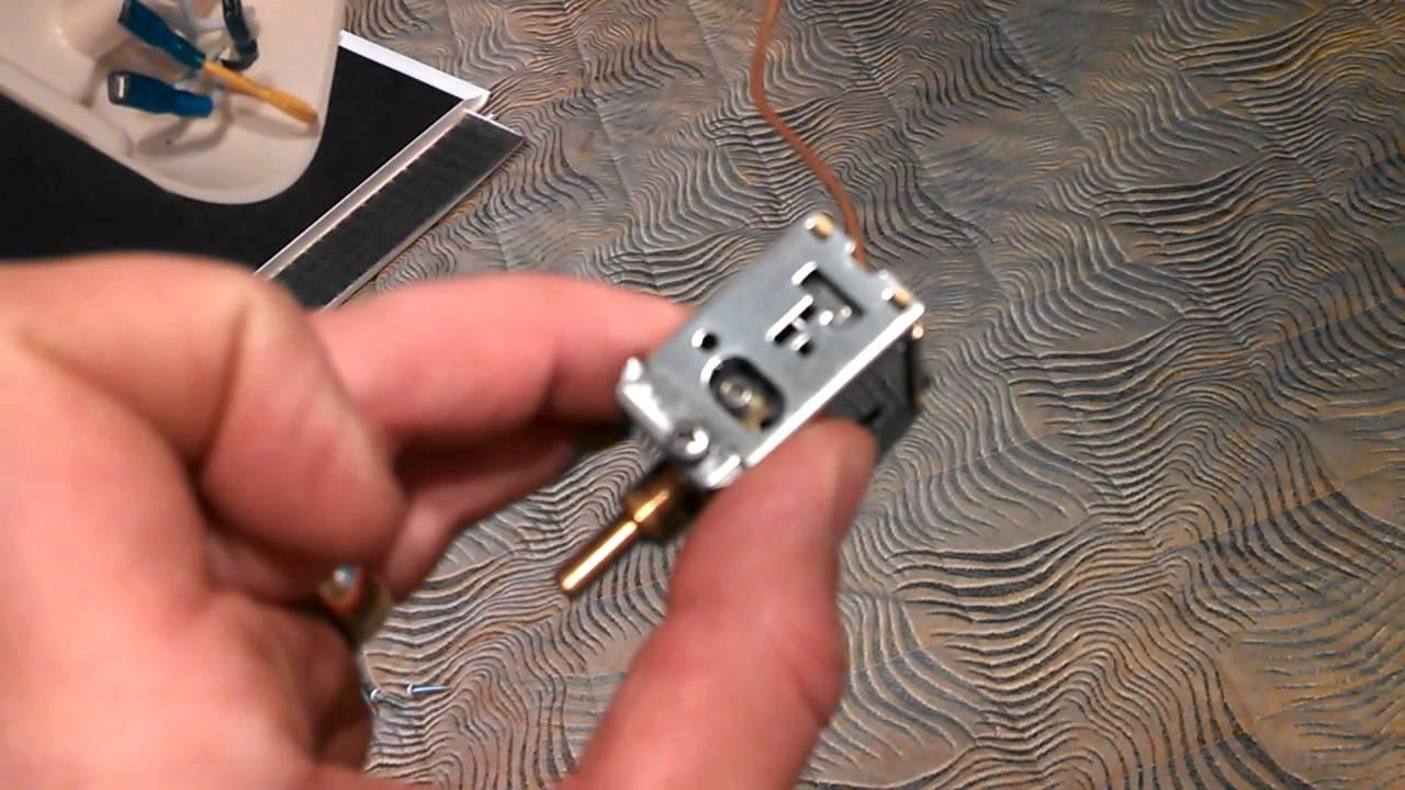 Coleman AC thermostat range adjustment  YouTube