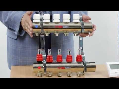 видео: Коллекторный блок valtec. Обзор продукта