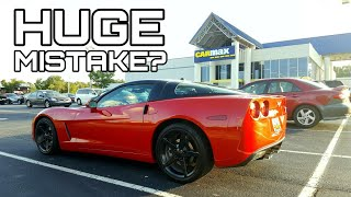 I Actually SOLD My Corvette to CarMax | Here's why...