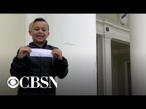 Sacramento's Latest News - 9 y/o Napa student used Allowance to pay off his Entire Class Lunch DEBT!